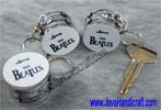 Bass Drum 'The Beatles' Keyring