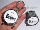 Drum 'The Beatles' Keyring